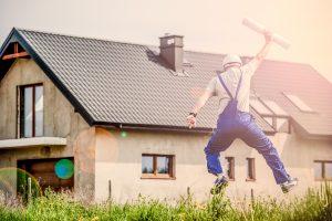 Een nieuw dak plaatsen Vergunning en subsidies
